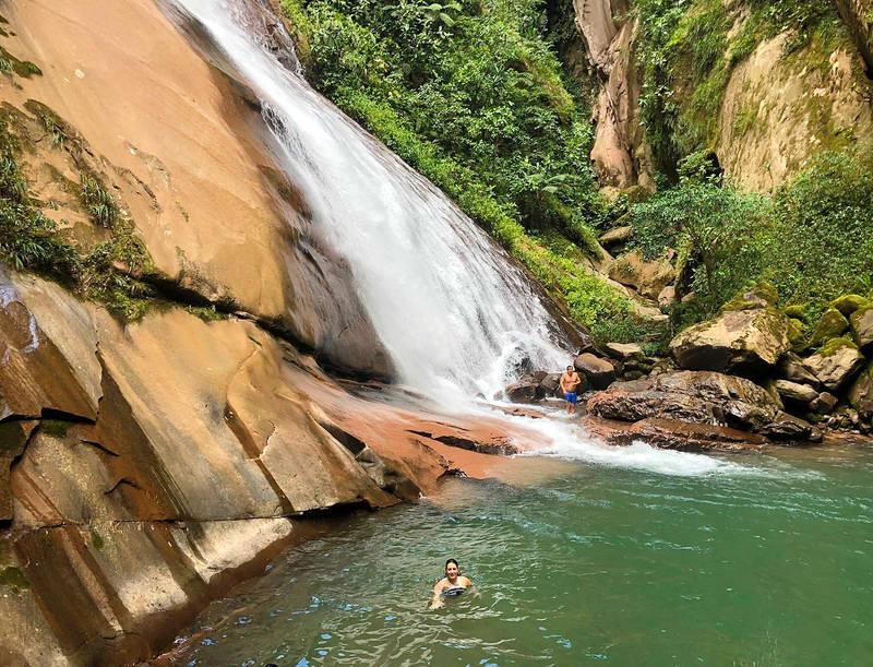 Водопад - Пукальпа - Амазонка